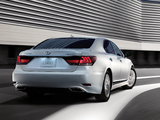 Lexus LS 460 JP-spec 2012 wallpapers
