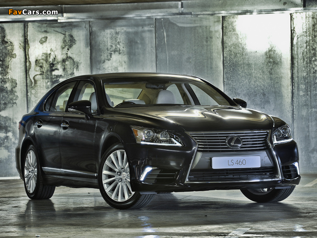 Lexus LS 460 ZA-spec 2013 wallpapers (640 x 480)