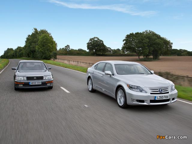 Lexus LS images (640 x 480)