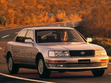 Photos of Lexus LS 400 EU-spec (UCF10) 1989–94