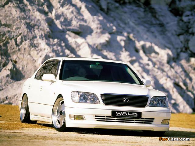Photos of WALD Lexus LS 400 (UCF20) 1997–2000 (640 x 480)