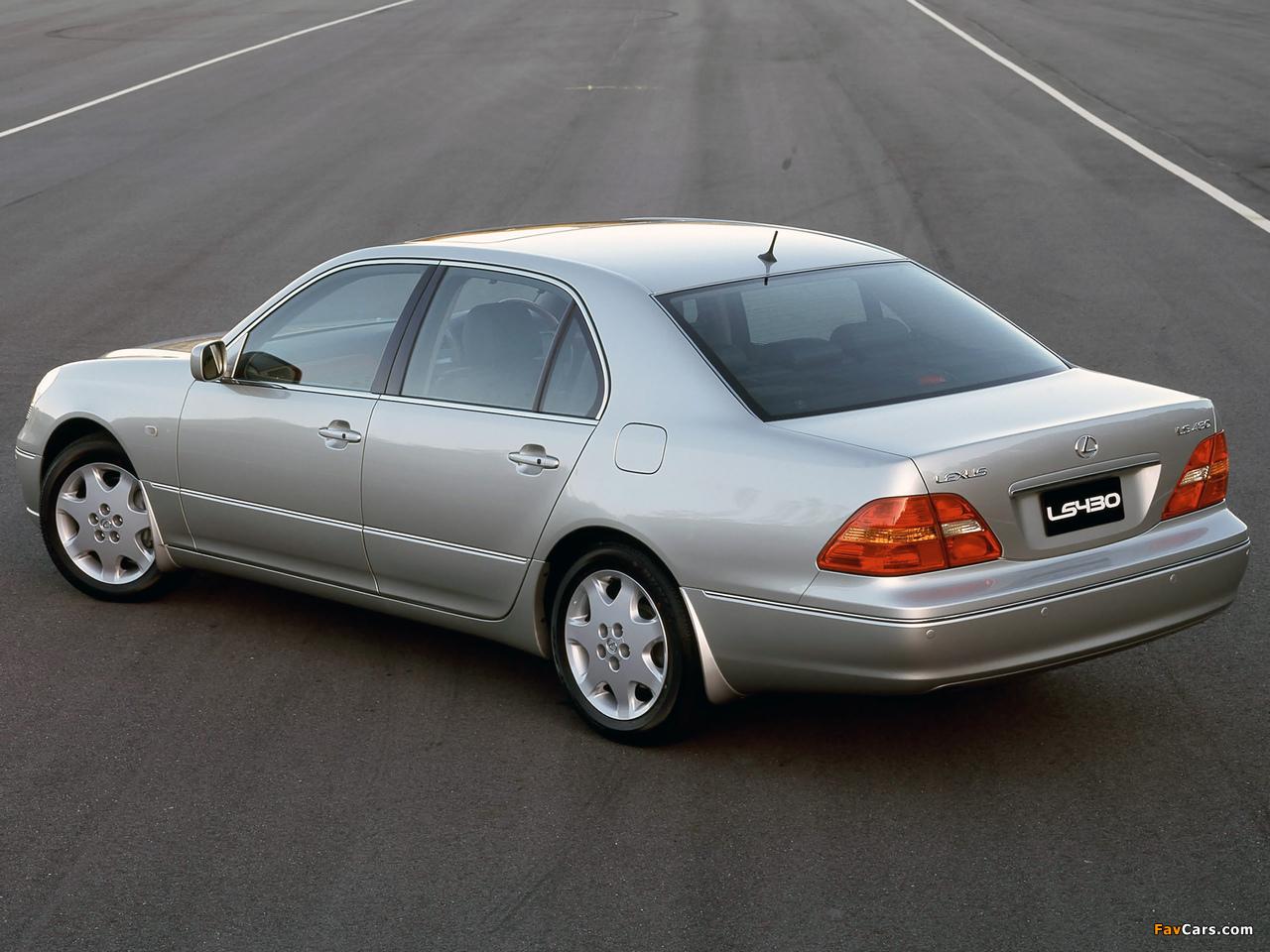 Photos of Lexus LS 430 AU-spec (UCF30) 2000–03 (1280 x 960)