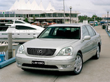 Photos of Lexus LS 430 AU-spec (UCF30) 2000–03