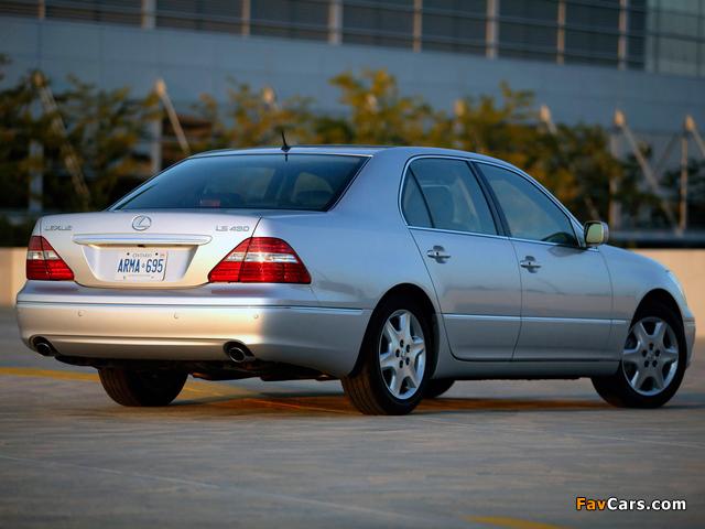 Photos of Lexus LS 430 (UCF30) 2003–06 (640 x 480)