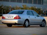 Photos of Lexus LS 430 (UCF30) 2003–06