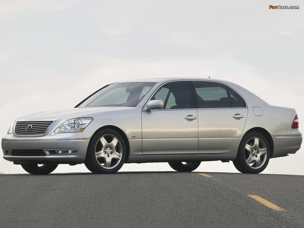 Photos of Lexus LS 430 (UCF30) 2003–06 (1024 x 768)