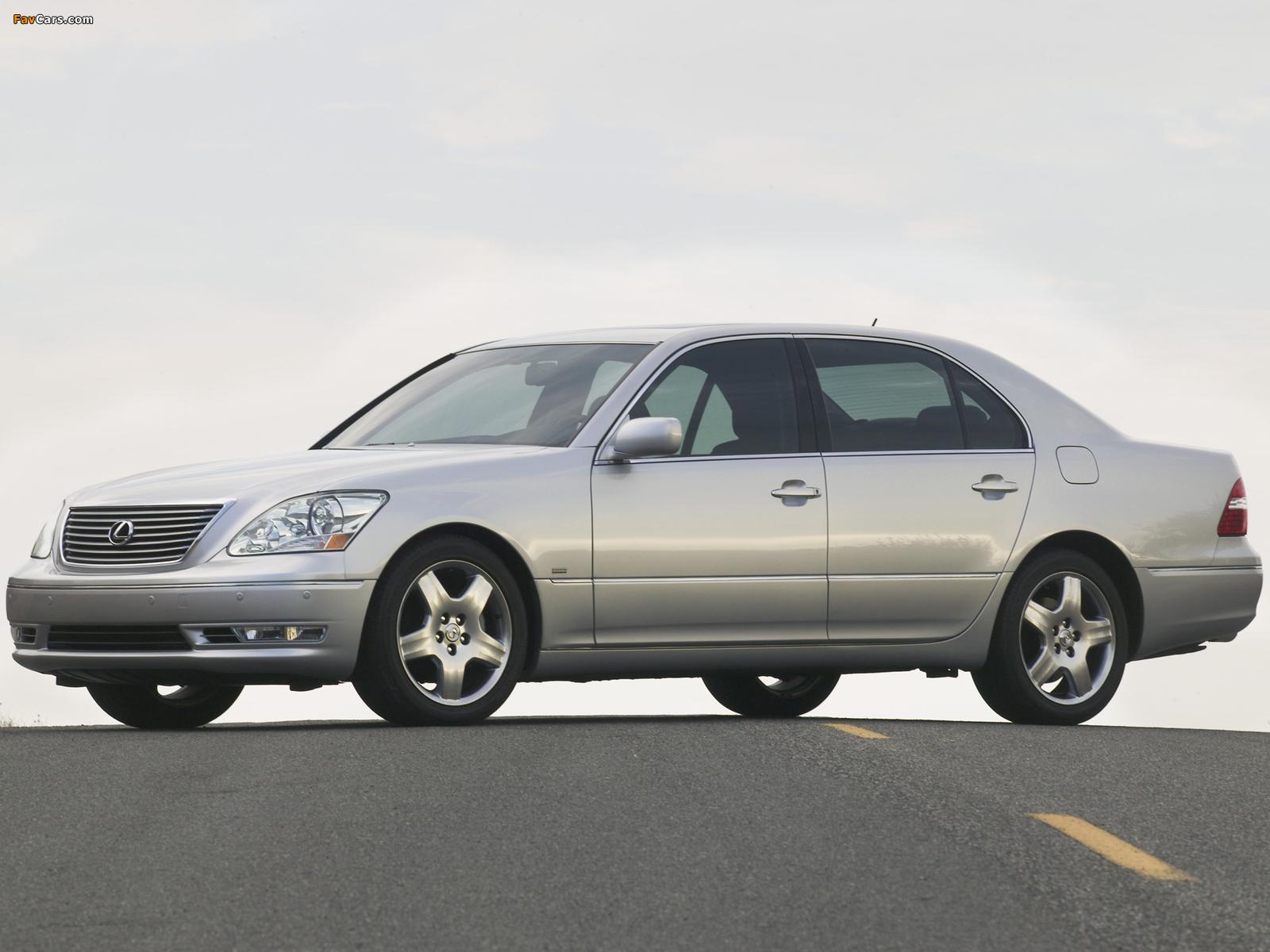 Photos of Lexus LS 430 (UCF30) 2003–06 (1600 x 1200)