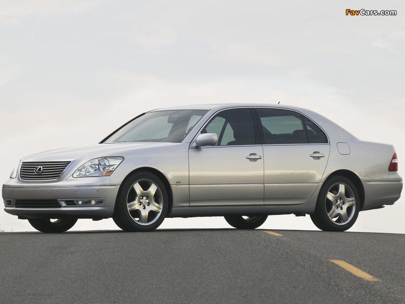 Photos of Lexus LS 430 (UCF30) 2003–06 (800 x 600)