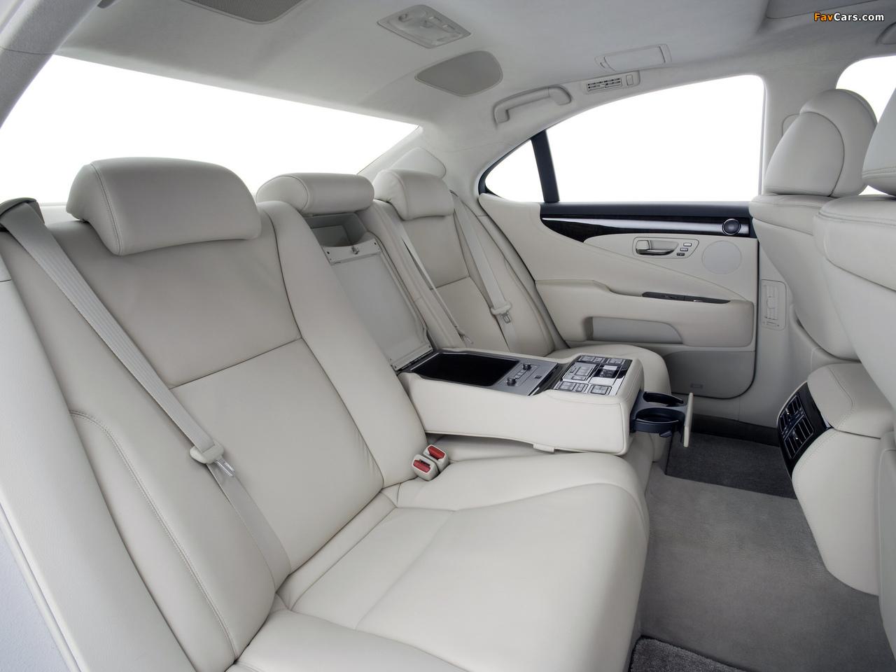 Photos of Lexus LS 460 (USF40) 2006–09 (1280 x 960)