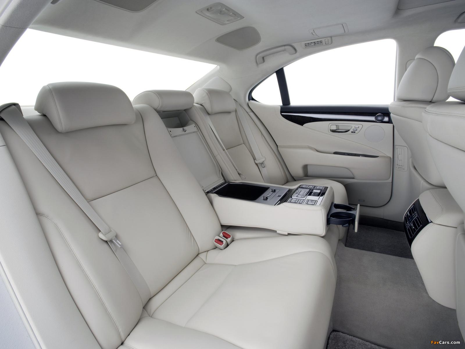 Photos of Lexus LS 460 (USF40) 2006–09 (1600 x 1200)