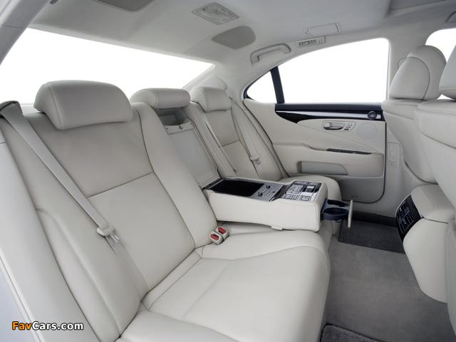 Photos of Lexus LS 460 (USF40) 2006–09 (640 x 480)