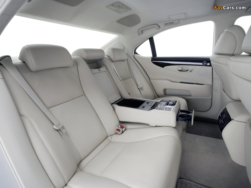 Photos of Lexus LS 460 (USF40) 2006–09 (800 x 600)