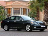 Photos of Lexus LS 460 ZA-spec (USF40) 2006–09