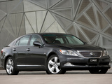 Photos of Lexus LS 460 AU-spec (USF40) 2007–09