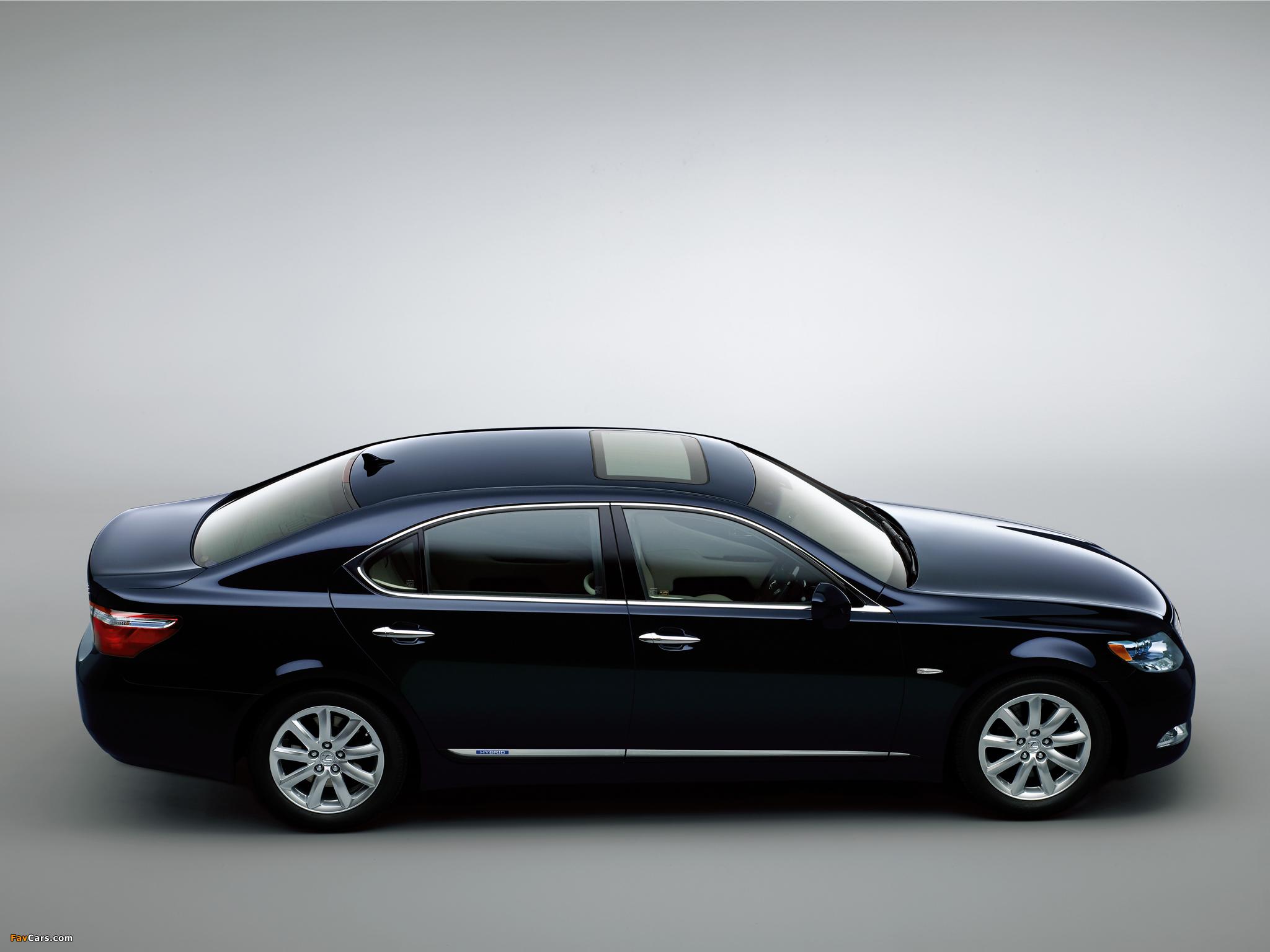 Photos of Lexus LS 600h L JP-spec (UVF45) 2007–09 (2048 x 1536)