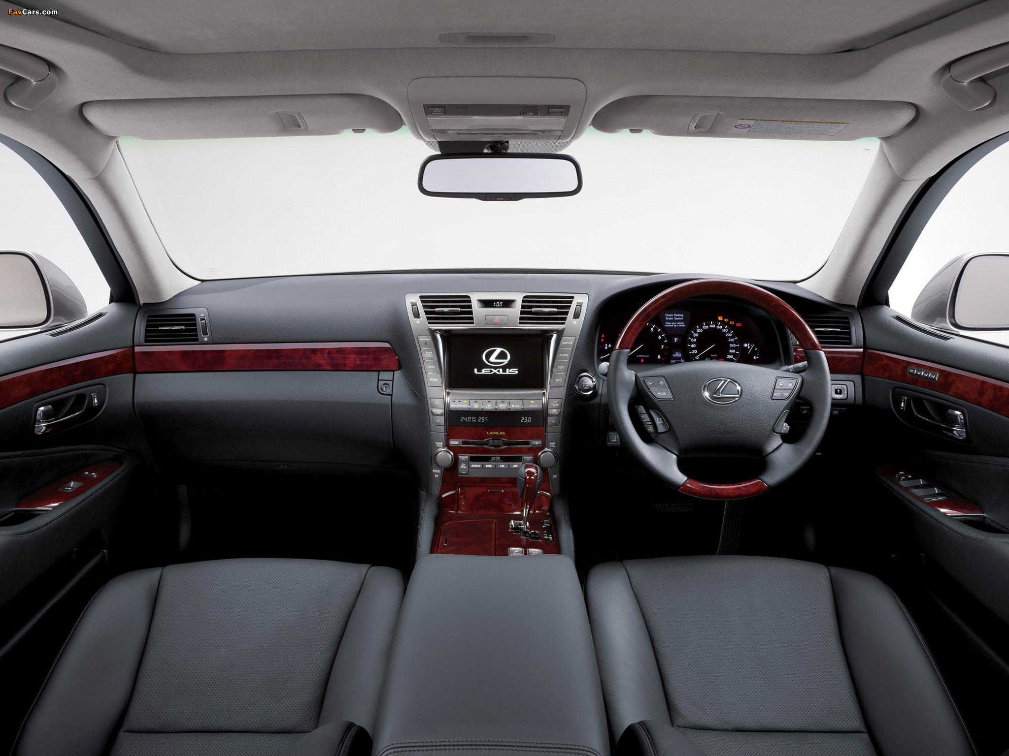 Photos of Lexus LS 460 AU-spec (USF40) 2007–09 (2048 x 1536)