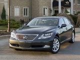 Photos of Lexus LS 600h L (UVF45) 2007–09