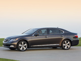 Photos of Lexus LS 600h L Pebble Beach Edition (UVF45) 2008