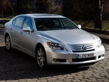 Photos of Lexus LS 600h L UK-spec (UVF45) 2009–12