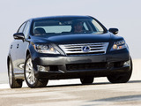 Photos of Lexus LS 600h L (UVF45) 2009–12