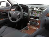 Photos of Lexus LS 460 EU-spec (USF40) 2009–12