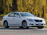 Photos of Lexus LS 460 Sport (USF40) 2009–12