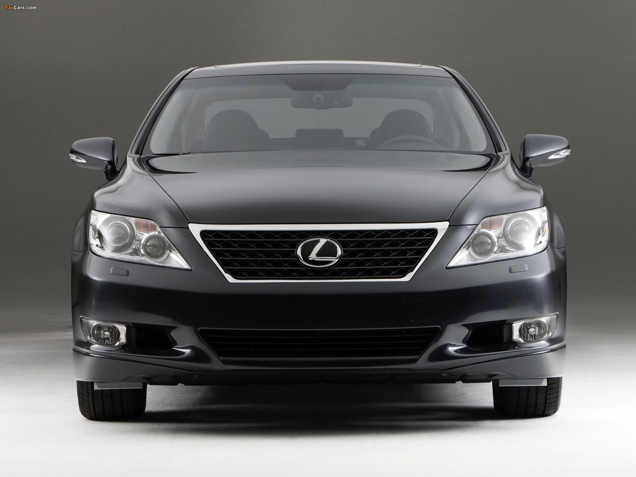 Photos of Lexus LS 460 Touring Edition (USF40) 2011–12 (2048 x 1536)