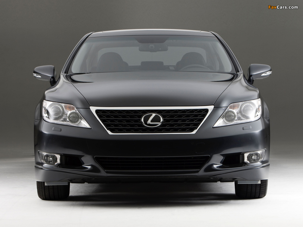 Photos of Lexus LS 460 Touring Edition (USF40) 2011–12 (1024 x 768)