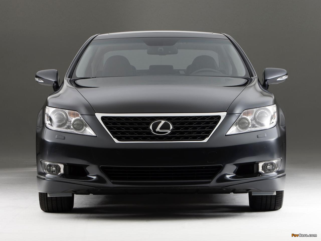 Photos of Lexus LS 460 Touring Edition (USF40) 2011–12 (1280 x 960)
