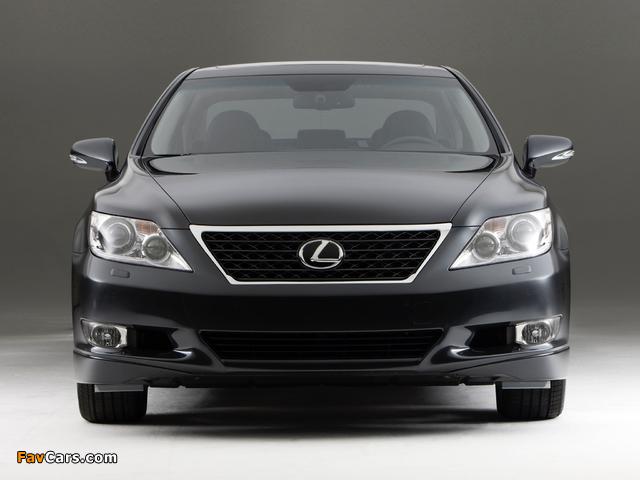 Photos of Lexus LS 460 Touring Edition (USF40) 2011–12 (640 x 480)