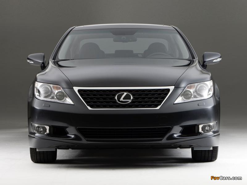 Photos of Lexus LS 460 Touring Edition (USF40) 2011–12 (800 x 600)