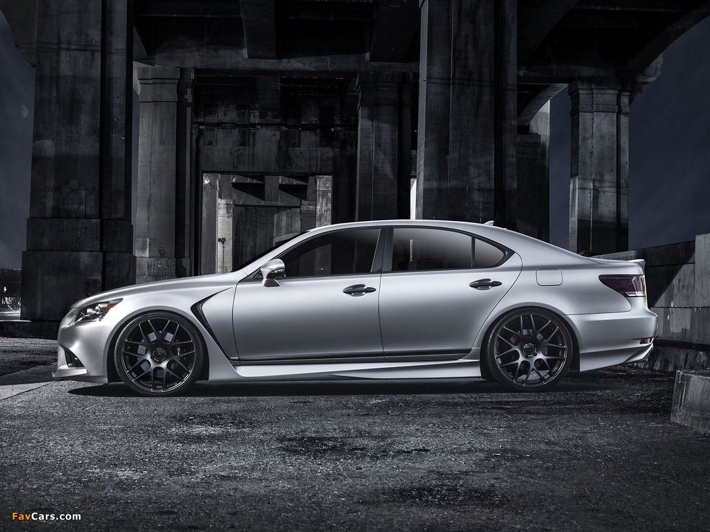 Photos of Lexus Project LS 460 F-Sport by Five Axis 2012 (1024 x 768)