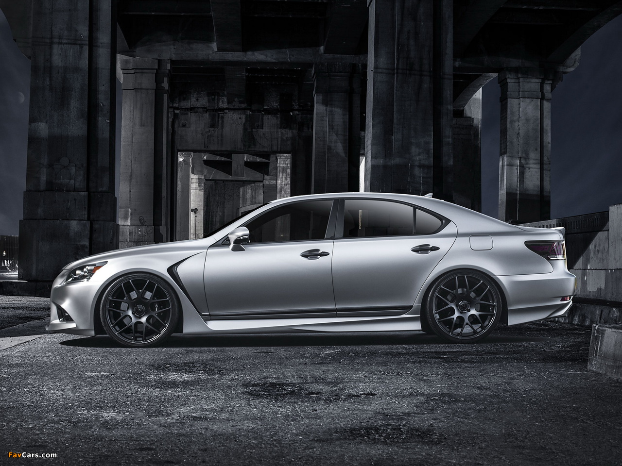 Photos of Lexus Project LS 460 F-Sport by Five Axis 2012 (1280 x 960)
