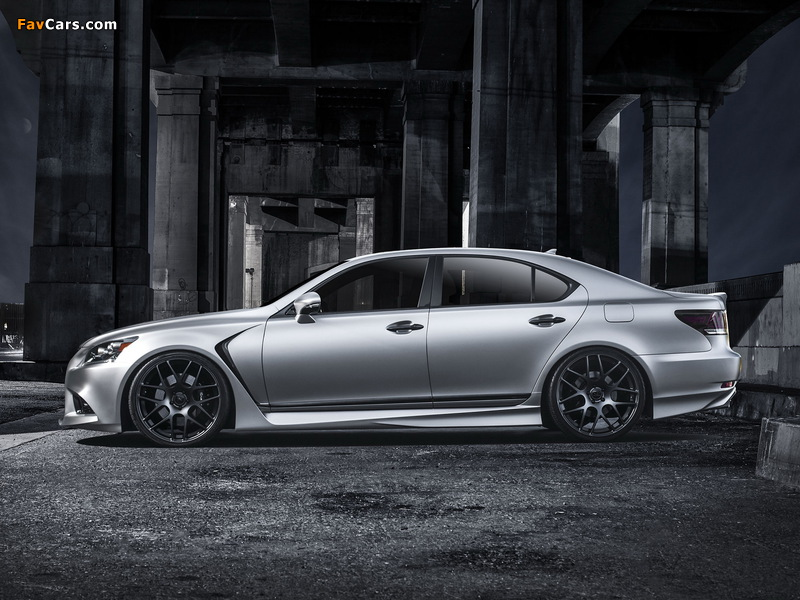 Photos of Lexus Project LS 460 F-Sport by Five Axis 2012 (800 x 600)