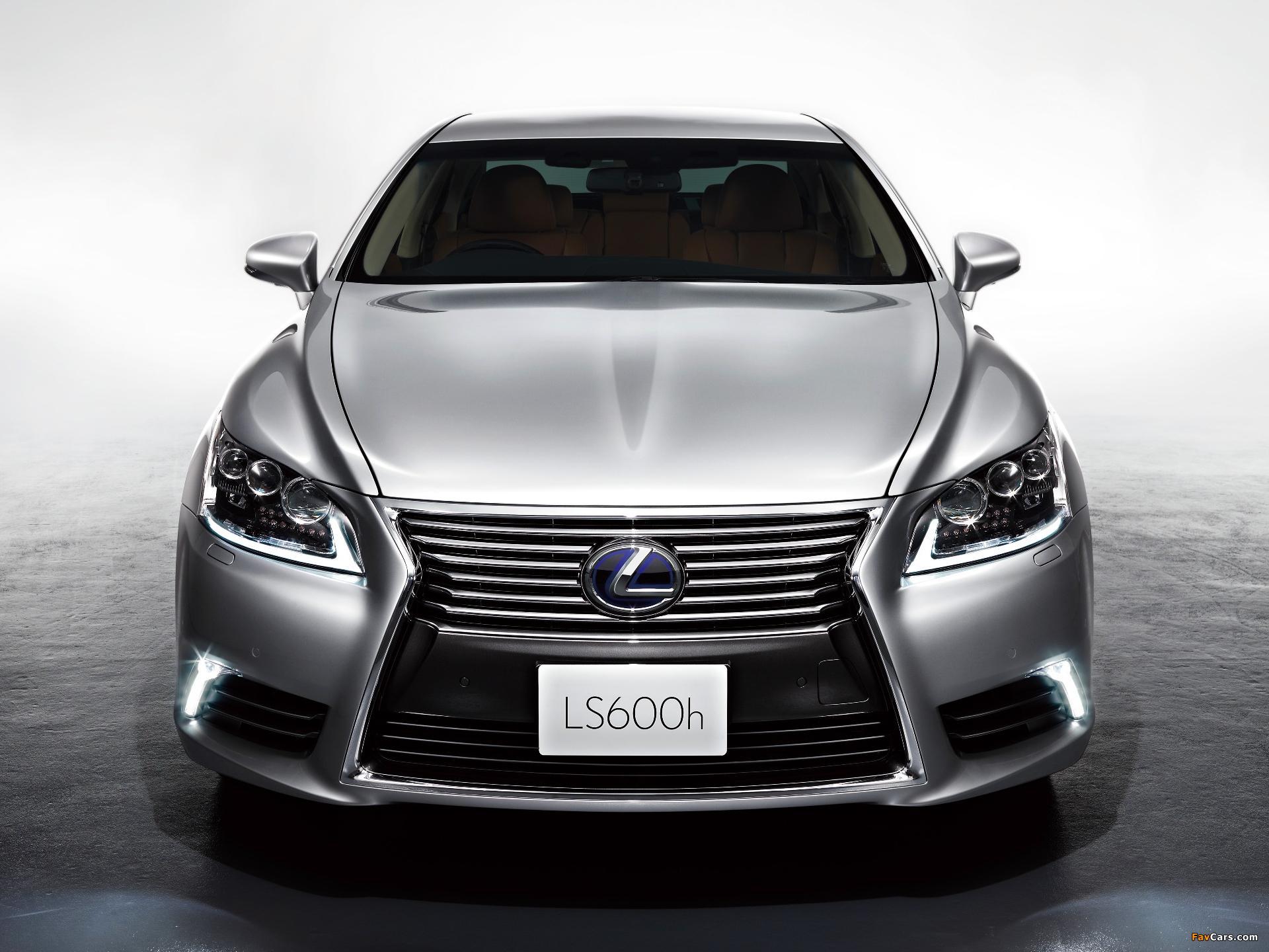 Photos of Lexus LS 600h JP-spec 2012 (1920 x 1440)