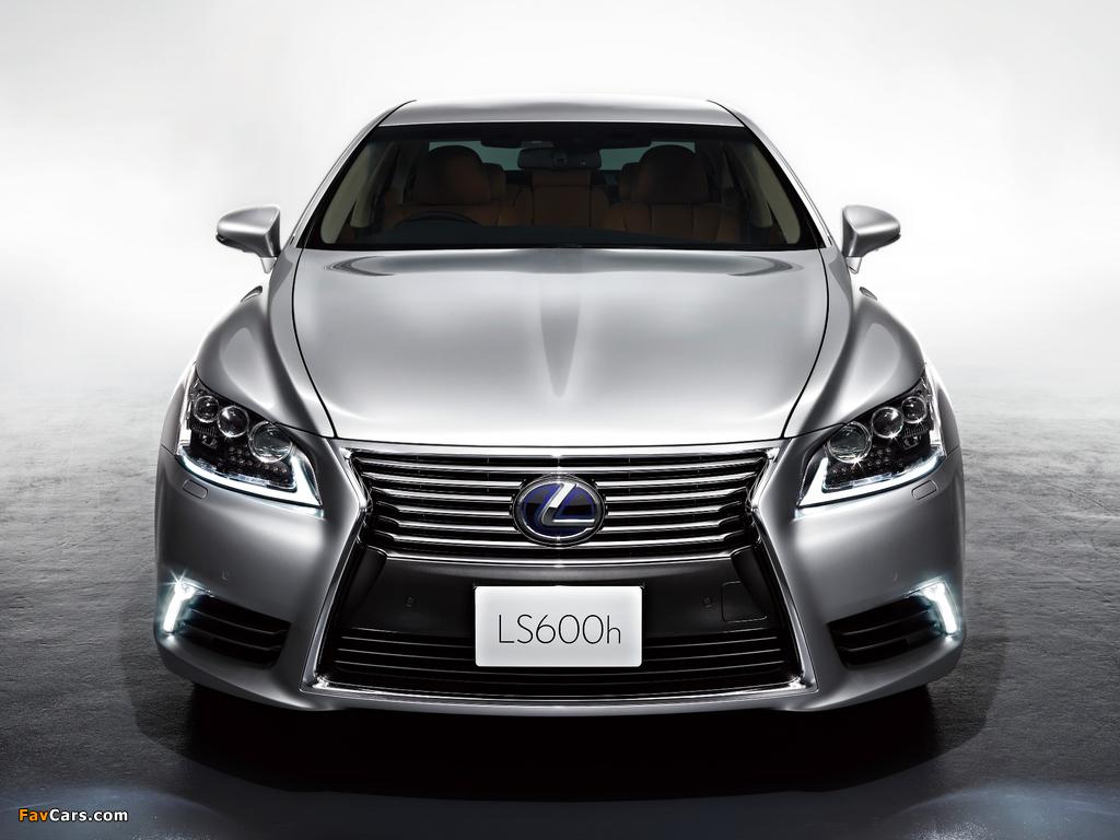 Photos of Lexus LS 600h JP-spec 2012 (1024 x 768)