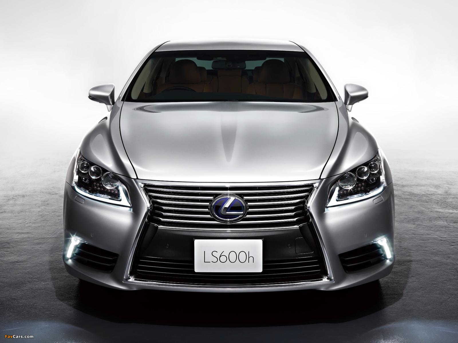 Photos of Lexus LS 600h JP-spec 2012 (1600 x 1200)