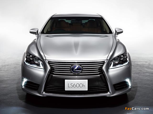 Photos of Lexus LS 600h JP-spec 2012 (640 x 480)