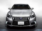 Photos of Lexus LS 600h JP-spec 2012