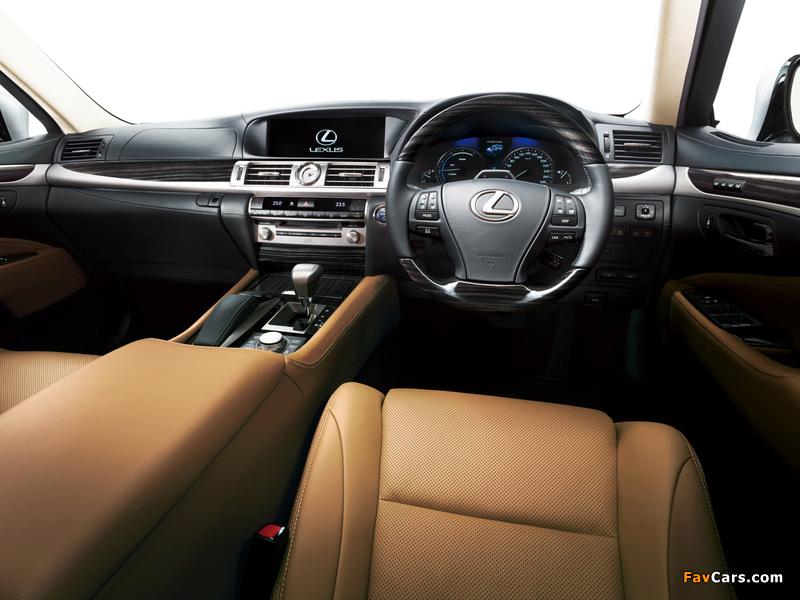 Photos of Lexus LS 600h JP-spec 2012 (800 x 600)