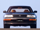 Pictures of Lexus LS 400 EU-spec (UCF10) 1989–94