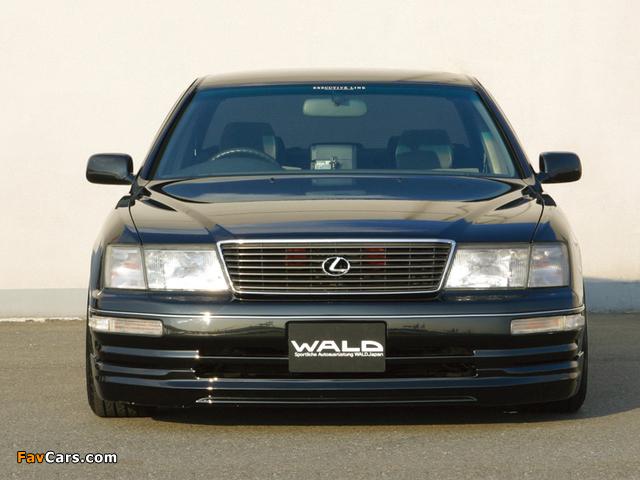 Pictures of WALD Lexus LS 400 (UCF20) 1995–97 (640 x 480)