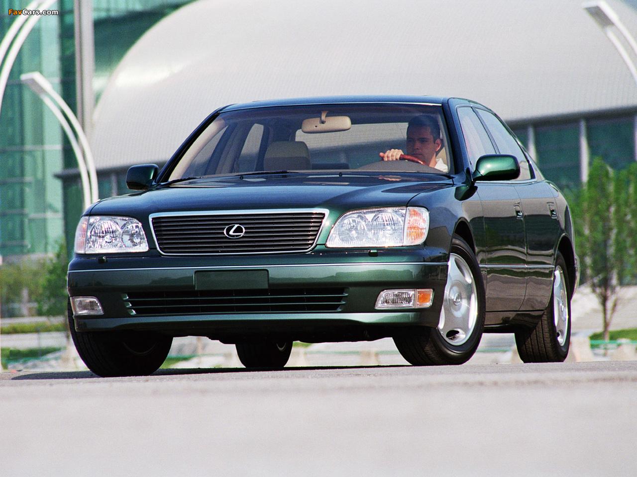 Pictures of Lexus LS 400 (UCF20) 1997–2000 (1280 x 960)