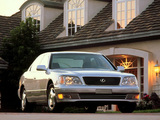 Pictures of Lexus LS 400 (UCF20) 1997–2000