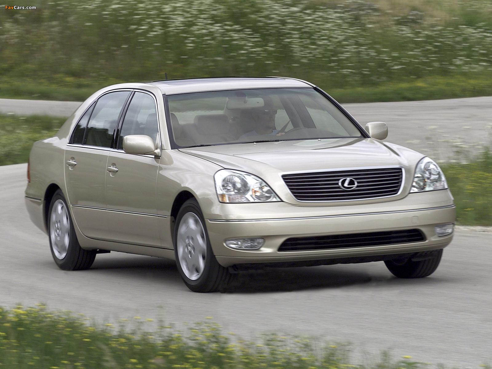 Pictures of Lexus LS 430 (UCF30) 2000–03 (1600 x 1200)