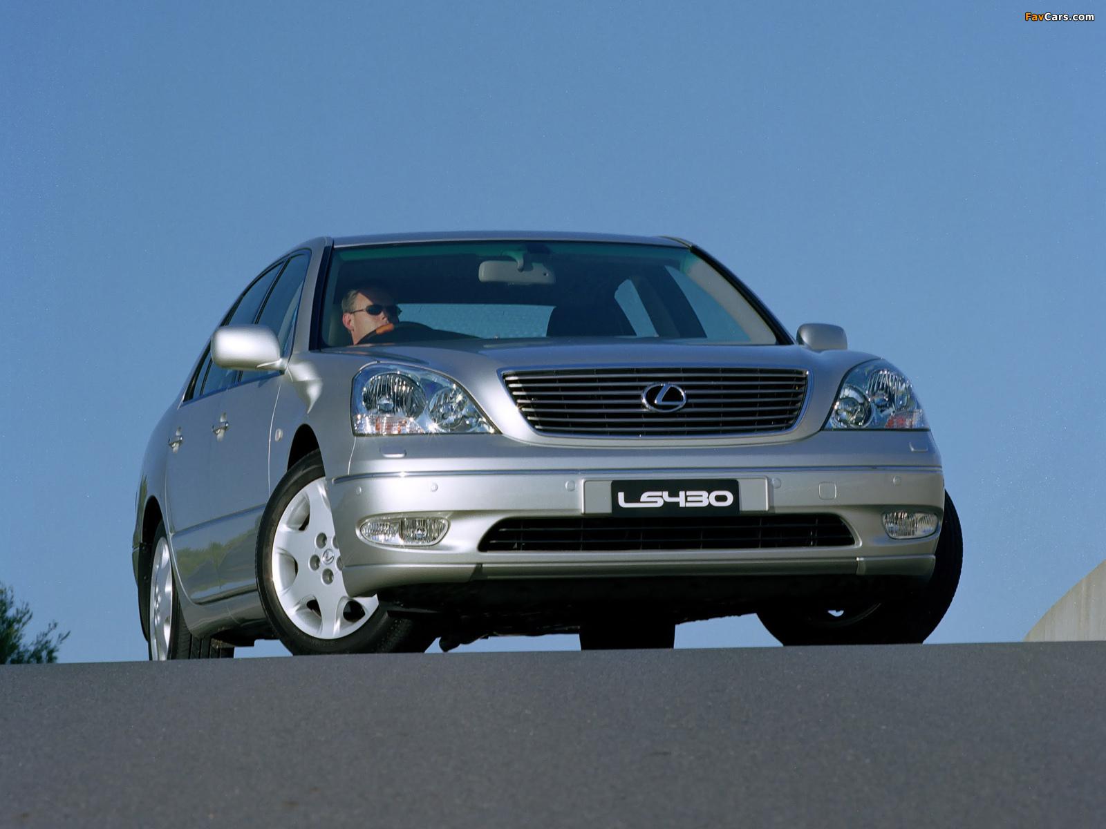 Pictures of Lexus LS 430 AU-spec (UCF30) 2000–03 (1600 x 1200)