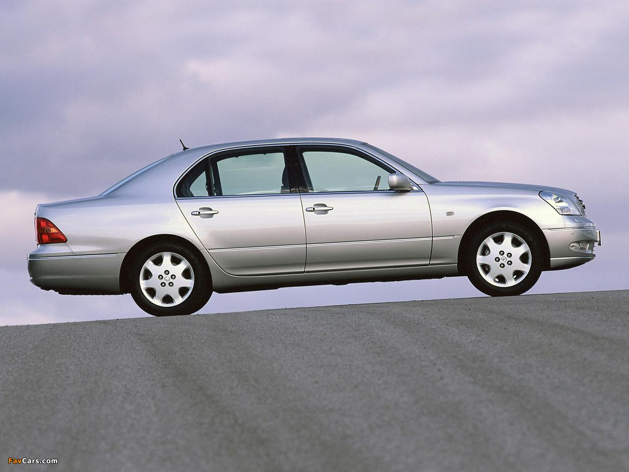 Pictures of Lexus LS 430 EU-spec (UCF30) 2000–03 (1280 x 960)