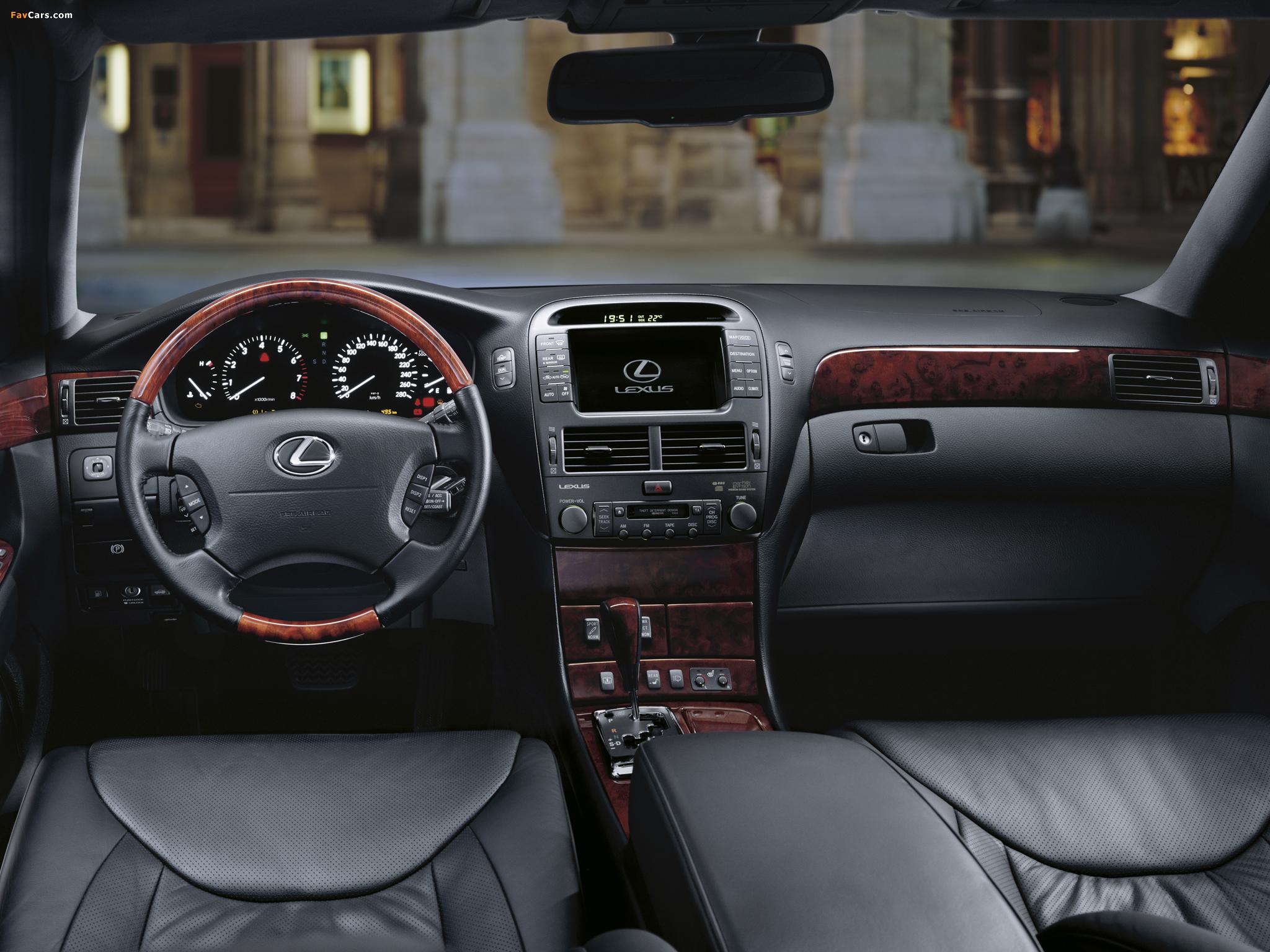 Pictures of Lexus LS 430 EU-spec (UCF30) 2000–03 (2048 x 1536)