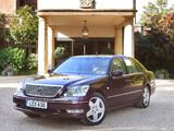 Pictures of Lexus LS 430 UK-spec (UCF30) 2003–06