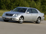 Pictures of Lexus LS 430 EU-spec (UCF30) 2003–06